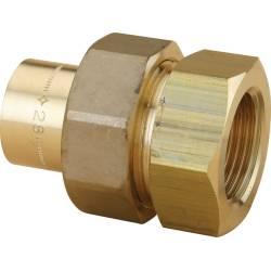 Raccord 3 pièces femelle cylindrique (à JSC) à braser sur cuivre